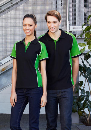 Biz Collection-Biz Collection Mens Nitro Polo--Uniform Wholesalers - 13