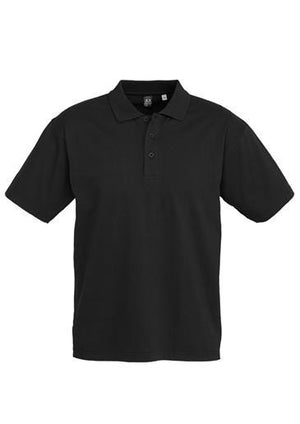 Biz Collection-Biz Collection Mens Ice Polo-Black / Small-Uniform Wholesalers - 3