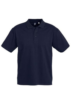 Biz Collection-Biz Collection Mens Ice Polo-Navy / Small-Uniform Wholesalers - 2