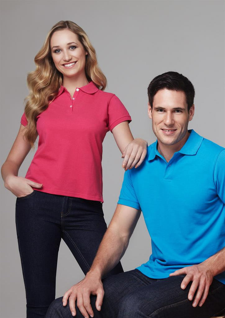 Biz Collection-Biz Collection Ladies Neon Polo--Uniform Wholesalers - 1