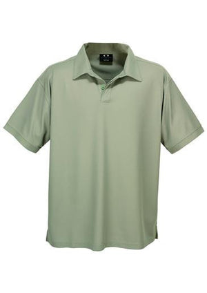 Biz Collection-Biz Collection Mens Micro Waffle Polo-Sage / Medium-Uniform Wholesalers - 6