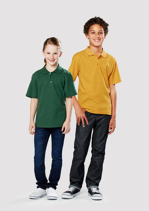 Biz Collection-Biz Collection  Kids Crew Polo(1st 9 Colours)--Uniform Wholesalers - 1