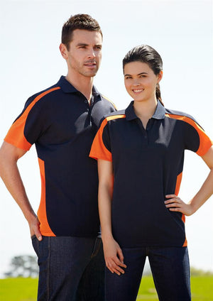 Biz Collection-Biz Collection Mens Talon Polo--Uniform Wholesalers - 3