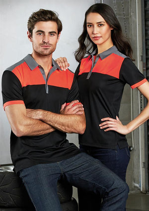 Biz Collection-Biz Collection Mens Charger Polo--Uniform Wholesalers - 1