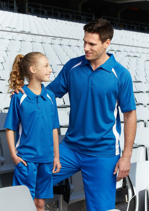 Biz Collection-Biz Collection  Mens Splice Polo 1st ( 10 Colour )--Uniform Wholesalers - 3
