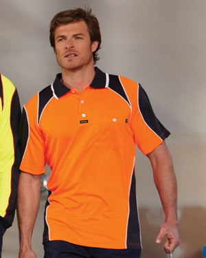 Visitec-Visitec Commando Microfibre Polo S/S--Uniform Wholesalers - 1