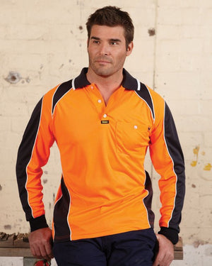 Visitec-Visitec Commando Micrifibre Polo L/S--Uniform Wholesalers - 1