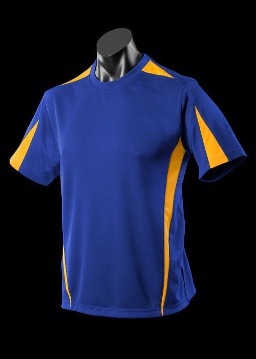 Aussie Pacific-Aussie Pacefic Kid's Eureka Tee 2nd (11 Color)-Royal/Gold / 6-Uniform Wholesalers - 5