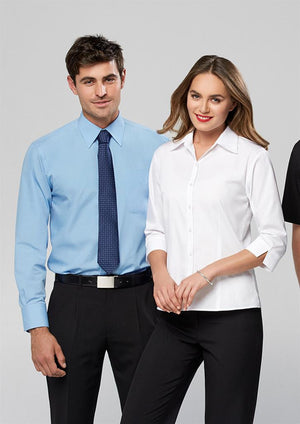 Biz Collection-Biz Collection Ladies Base 3/4 Sleeve Shirt--Uniform Wholesalers - 1