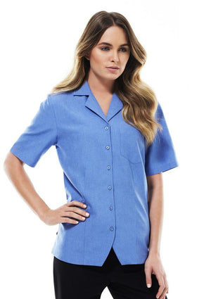 Biz Collection-Biz Collection Ladies Oasis Plain Overblouse--Uniform Wholesalers - 7