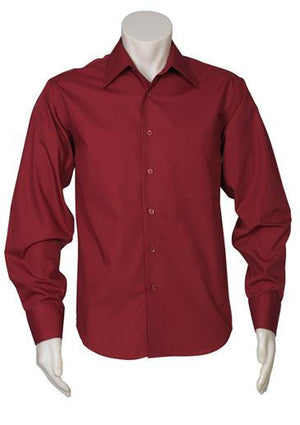 Biz Collection-Biz Collection Mens Metro Long Sleeve Shirt--Uniform Wholesalers - 10