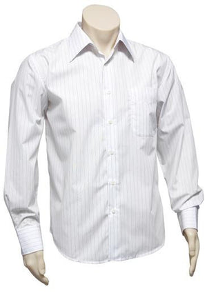 Biz Collection-Biz Collection Mens Manhattan Long Sleeve Shirt--Uniform Wholesalers - 3