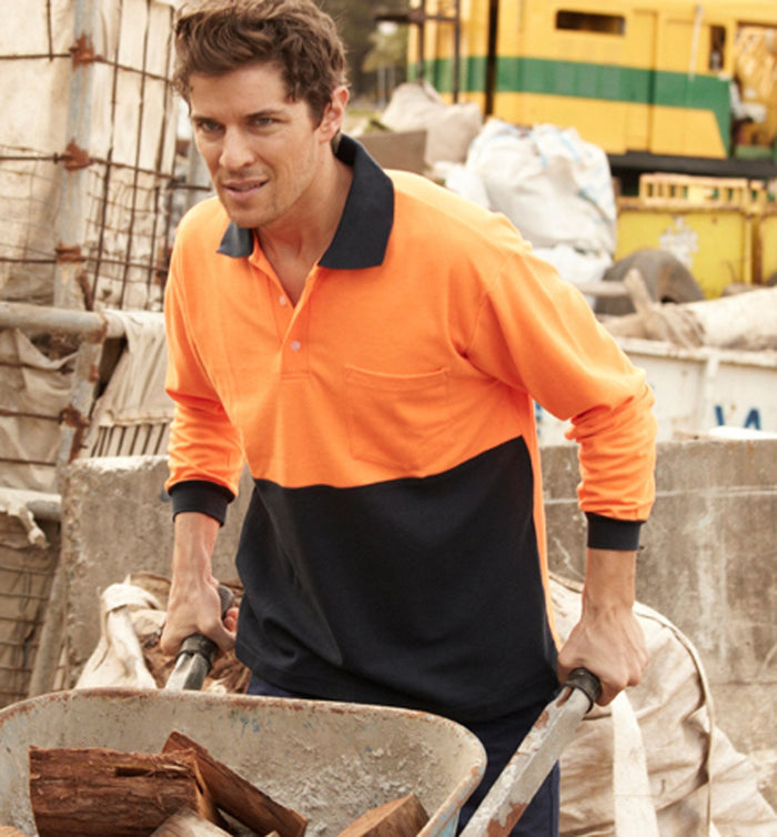 Bocini Hi-Vis Poly/Cotton Polo (SP0380)