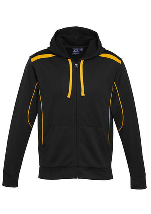 Biz Collection-Biz Collection Mens United Hoodie-Black/Gold / S-Uniform Wholesalers - 1