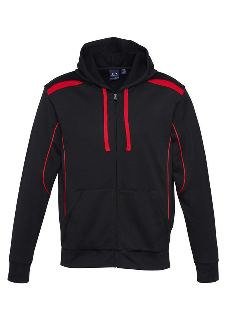Biz Collection-Biz Collection United Kids Hoodie-4 / BLACK/RED-Uniform Wholesalers - 4