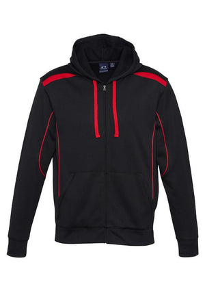 Biz Collection-Biz Collection Mens United Hoodie-Black/Red / S-Uniform Wholesalers - 2