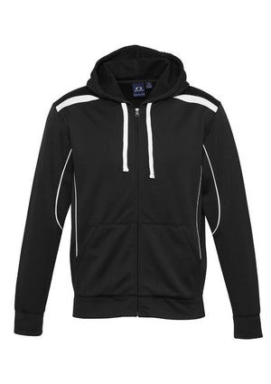 Biz Collection-Biz Collection Mens United Hoodie-Black/White / S-Uniform Wholesalers - 3