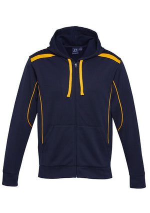 Biz Collection-Biz Collection Mens United Hoodie-Navy/Gold / S-Uniform Wholesalers - 4