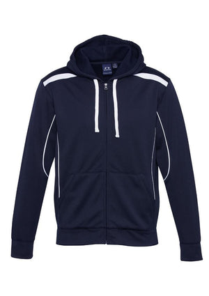 Biz Collection-Biz Collection Mens United Hoodie-Navy/White / S-Uniform Wholesalers - 5