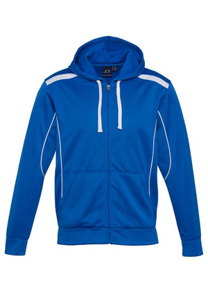 Biz Collection-Biz Collection Mens United Hoodie-Royal/White / S-Uniform Wholesalers - 6