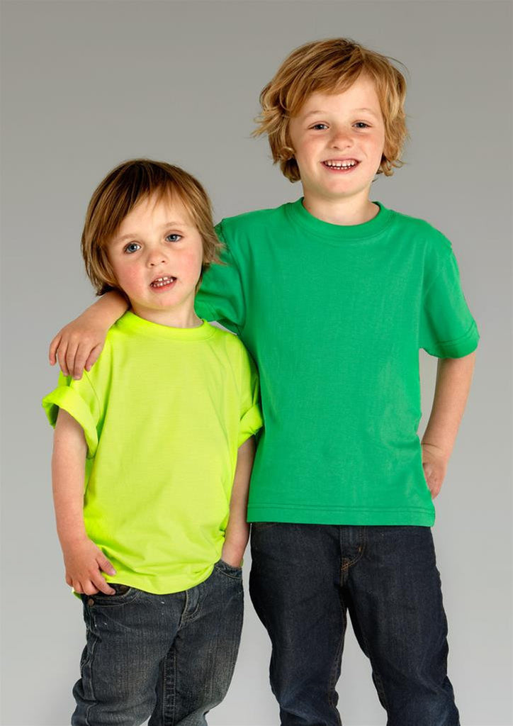 Biz Collection-Biz Collection Kids Ice Tee - 1st ( 12 Colour )--Uniform Wholesalers - 1