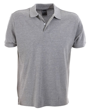 identitee-identitee Mens Venice Slim Cut Polo Shirt-Grey Marle / S-Uniform Wholesalers - 5