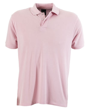 identitee-identitee Mens Venice Slim Cut Polo Shirt-Pink / S-Uniform Wholesalers - 7
