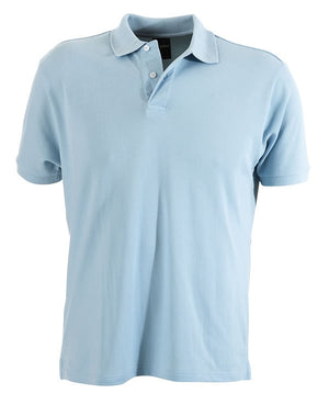 identitee-identitee Mens Venice Slim Cut Polo Shirt-Sky / S-Uniform Wholesalers - 8