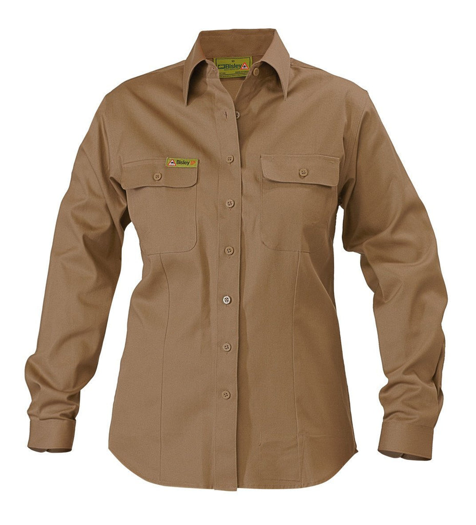Bisley Insect Protection Womens Drill Shirt
