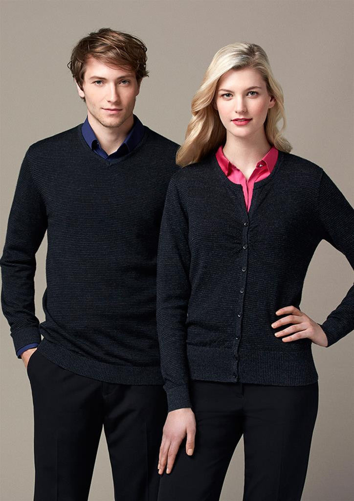 Biz Collection-Biz Collection Ladies Origin Merino Cardigan--Uniform Wholesalers - 1
