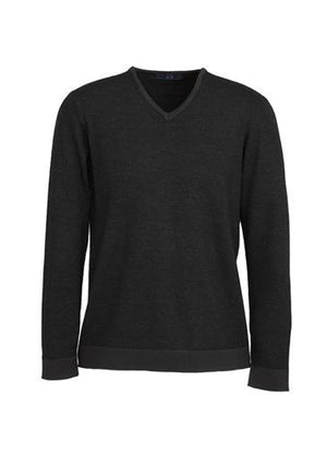 Biz Collection-Biz Collection Mens Origin Merino Pullover-Black / XS-Uniform Wholesalers - 2