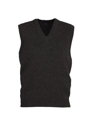 Biz Collection-Biz Collection Mens  Woolmix Vest-Black / XS-Uniform Wholesalers - 3