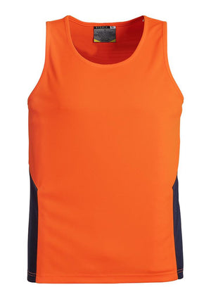 Syzmik-Syzmik Day Only Squad Singlet-Orange/Navy / XXS-Uniform Wholesalers - 3