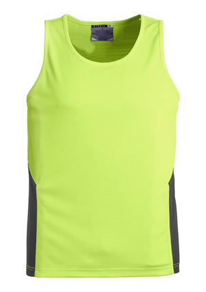 Syzmik-Syzmik Day Only Squad Singlet-Yellow/Charcoal / XXS-Uniform Wholesalers - 4