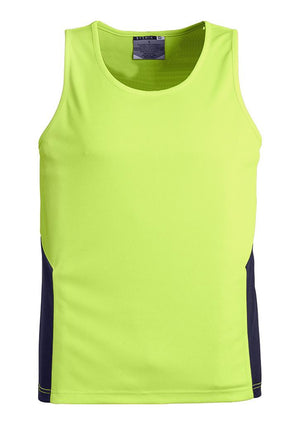 Syzmik-Syzmik Day Only Squad Singlet-Yellow/Navy / XXS-Uniform Wholesalers - 5