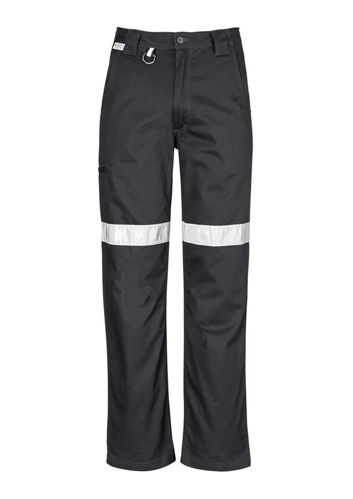 Syzmik-Syzmik Mens Taped Utility Pant-Black / 72-Uniform Wholesalers - 2