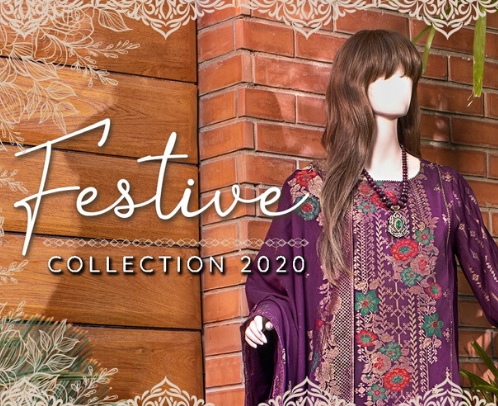 Eid ul Fitr Online SALE | Pakistani Clothes Festival Collection | SAYA
