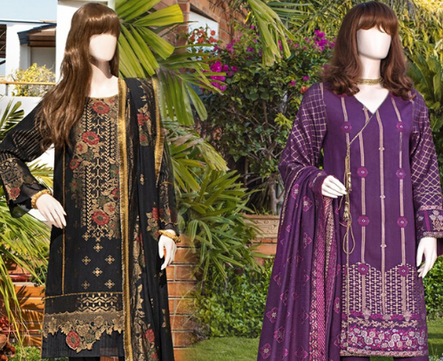 Ladies Latest Pret Shirt | Women Summer Suit Collection | SAYA.PK