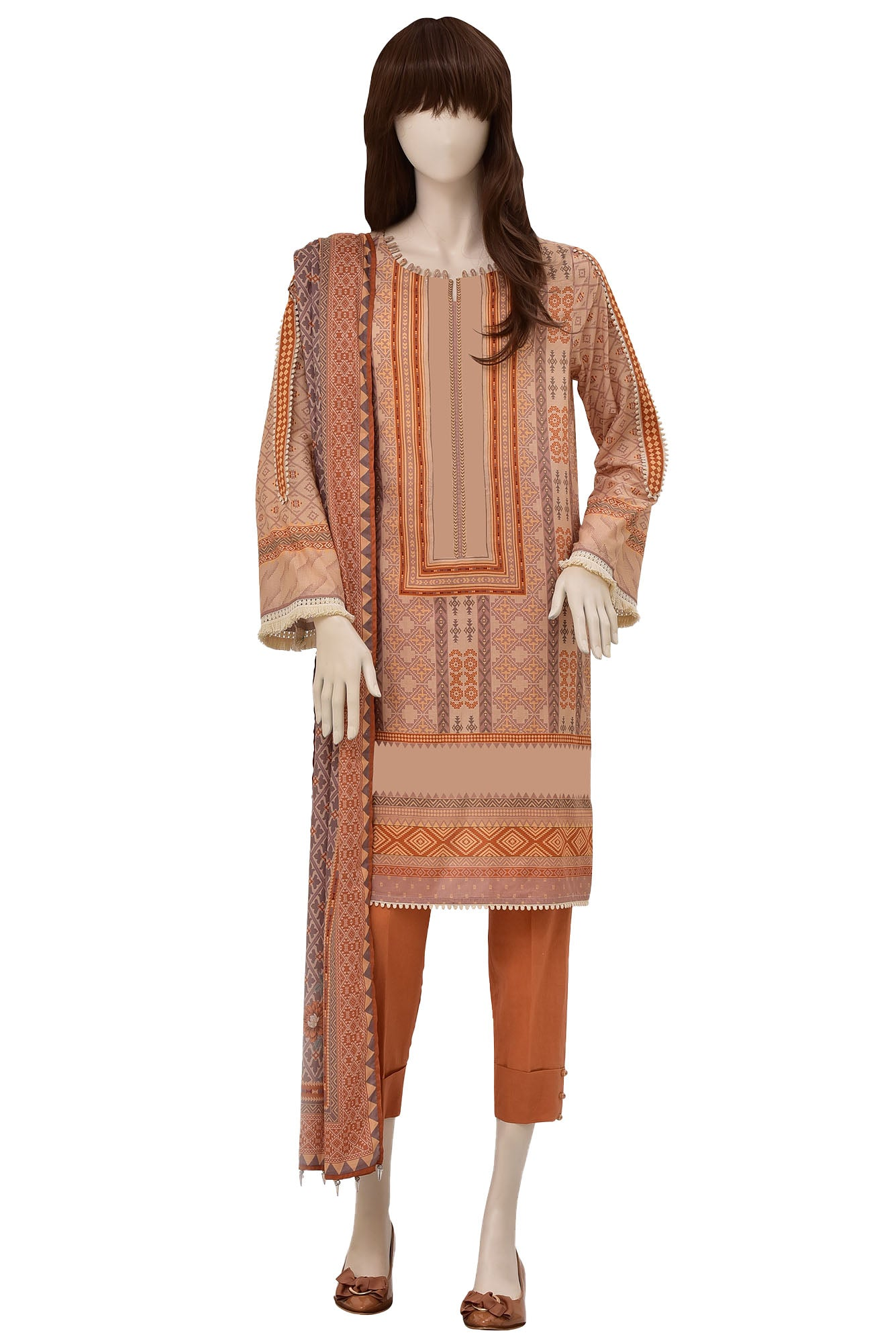 KILIM UP-2019-03D (SHIRT/DUPATTA)