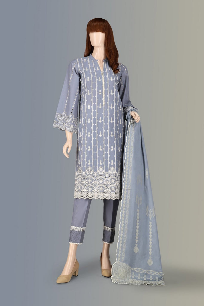 Unstitched Chikankari 3 Piece