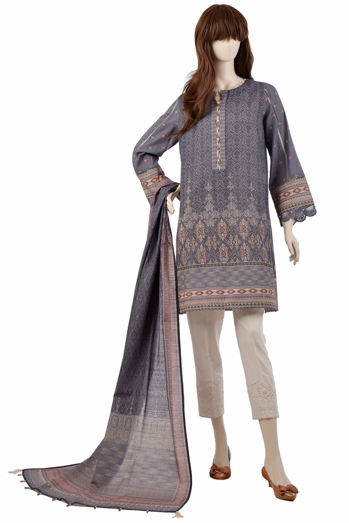 FELICITY UP-1927-6B (SHIRT/DUPATTA) - Saya