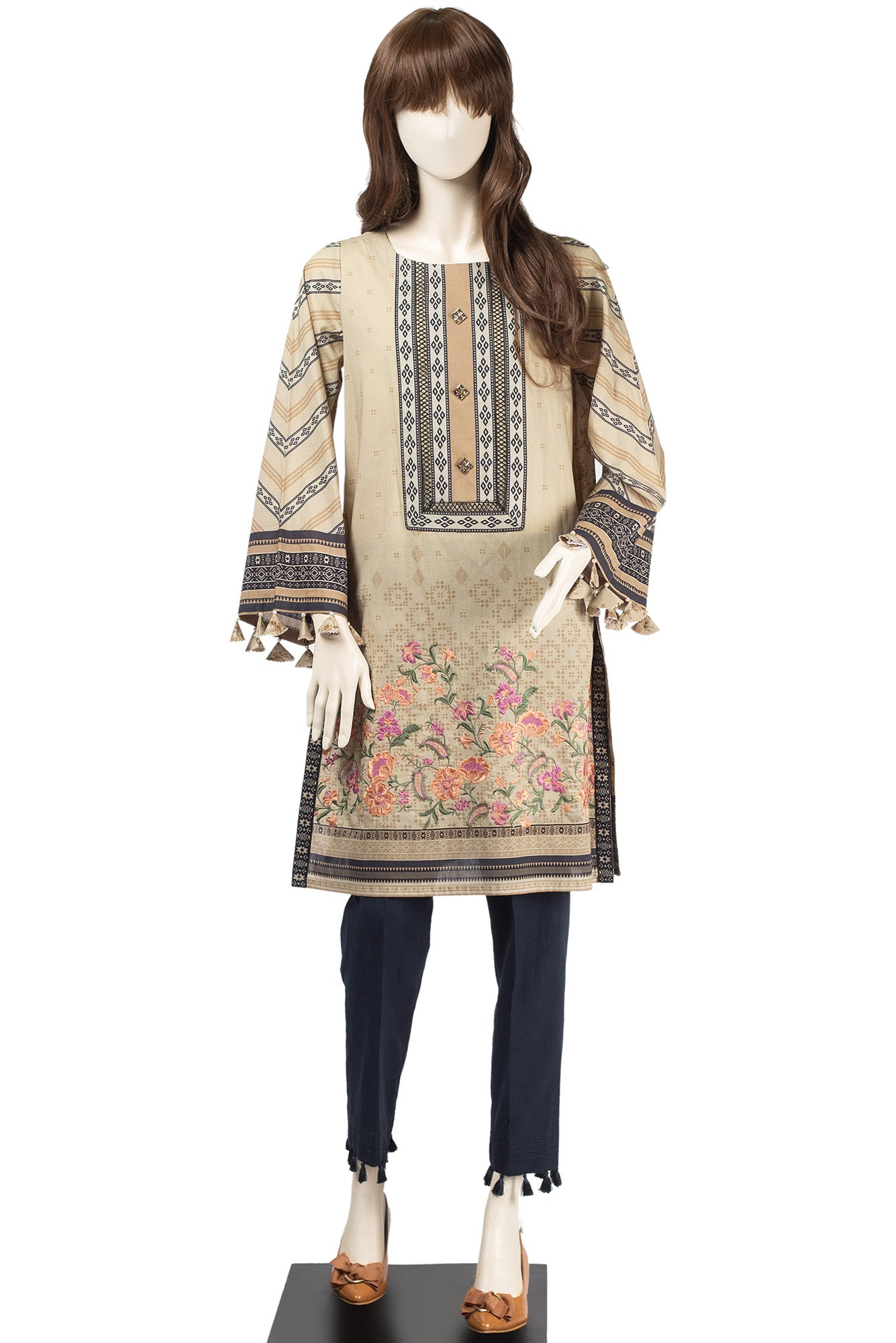 FLOKATI UB-1915-02D (EMBROIDERED SHIRT) - Saya
