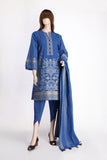 Unstitched Jacquard Lawn 3 Piece