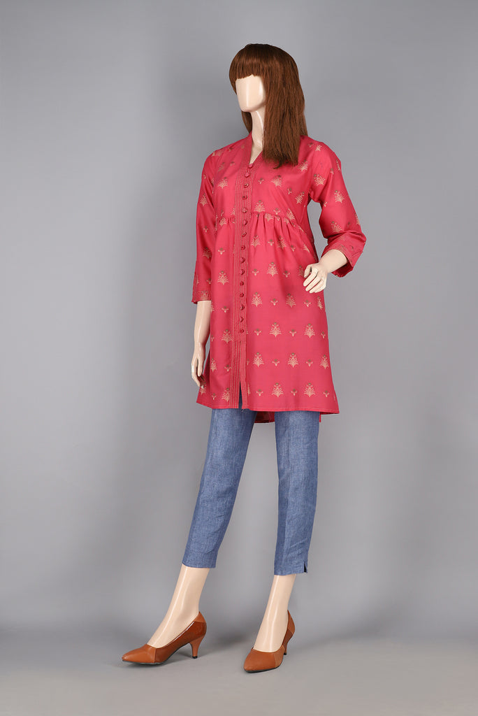 Jacquard Cotton Shirt