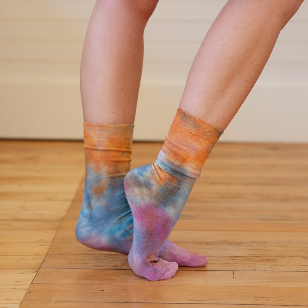 Mother of Sun : Tie Dyed Socks