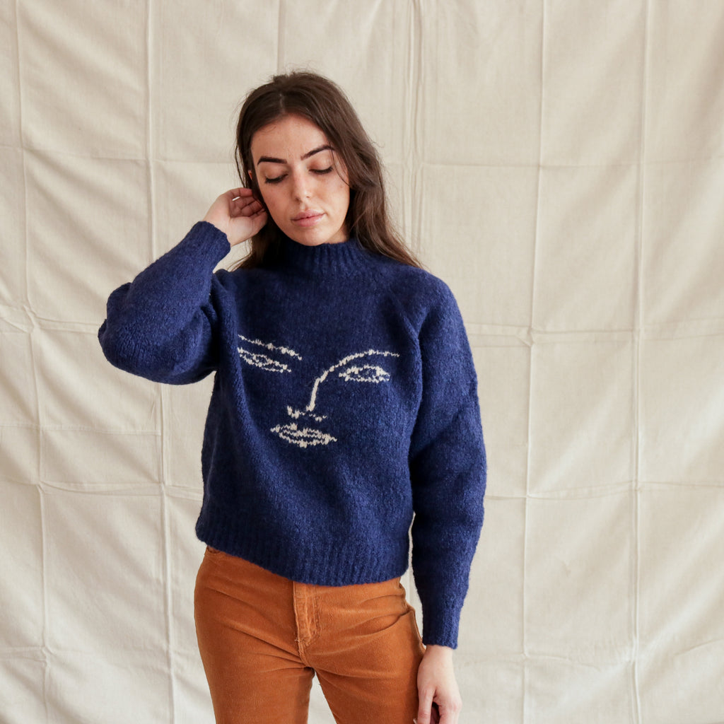Paloma Wool : Piero Sweater Navy