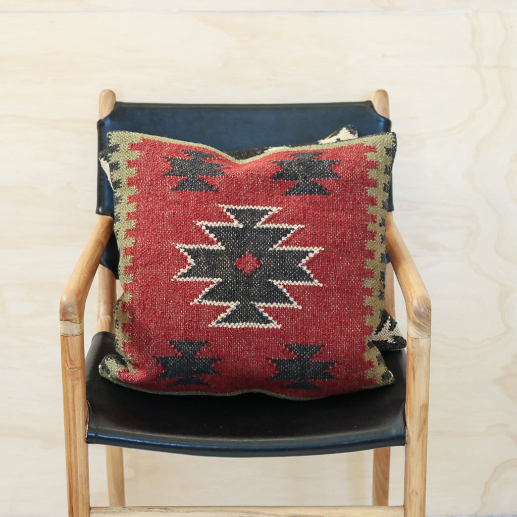 Aztec Handwoven Kilim Cushion #1