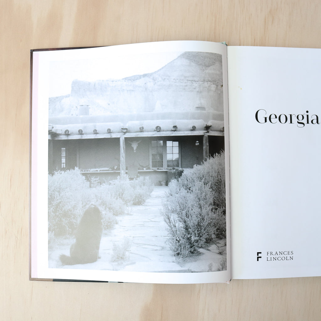 Georgia O'Keeffe at Home Book