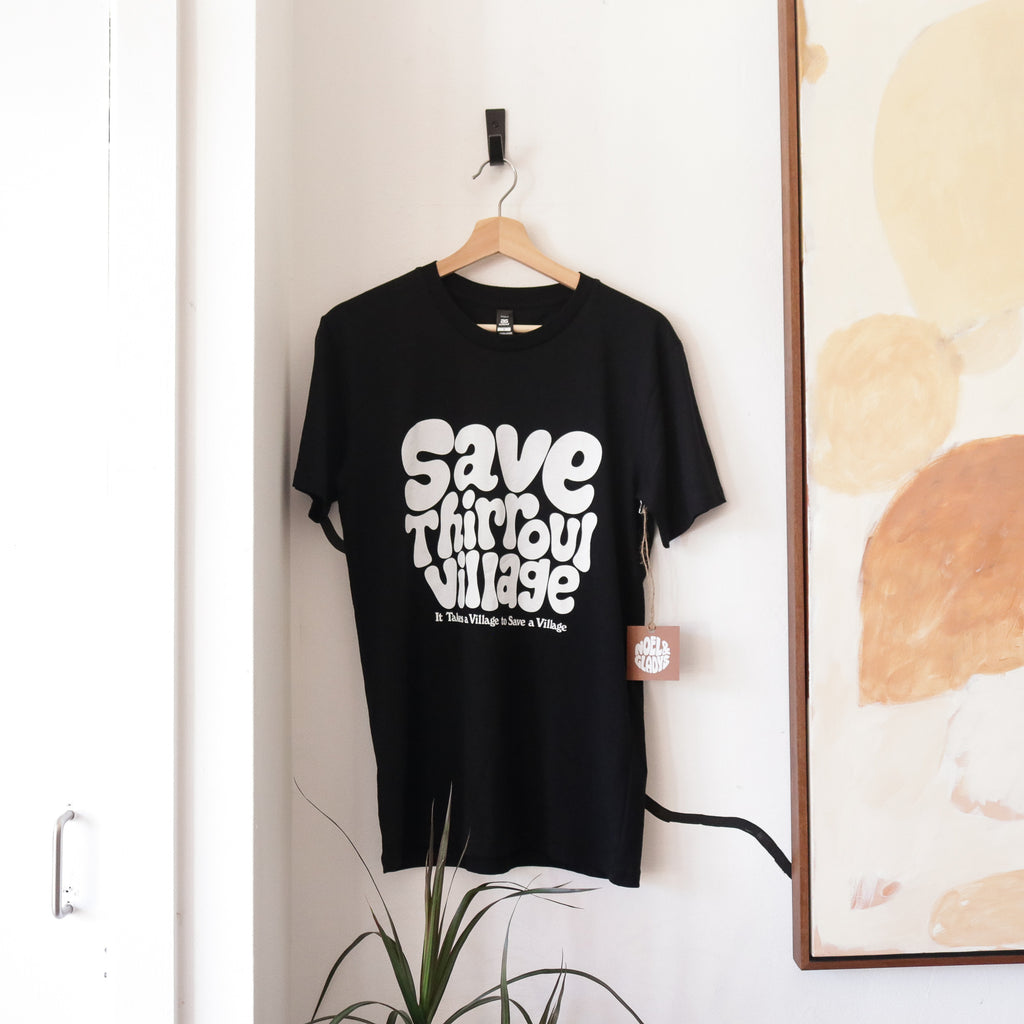 Save Thirroul Village Tee - Black