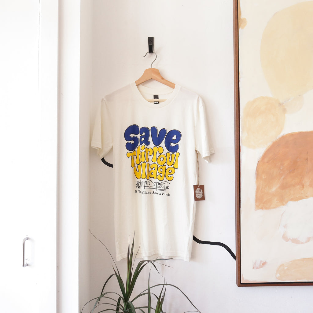 Save Thirroul Village Tee - White